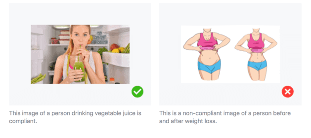 facebook ad image before and after