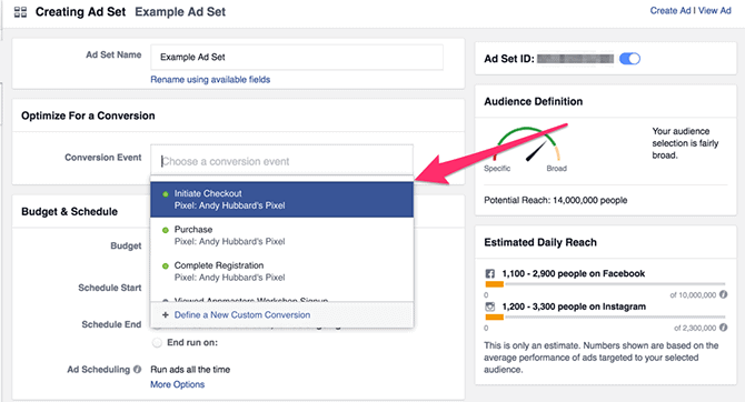 optimizing for conversions