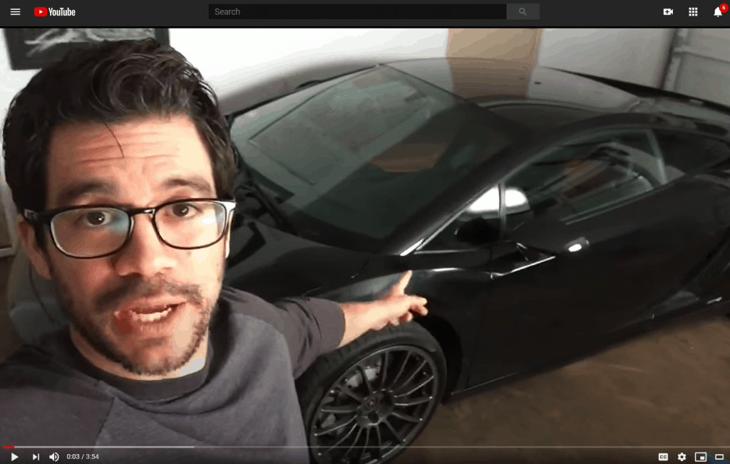 Lambo guy from YouTube
